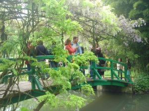 Giverny's water garden