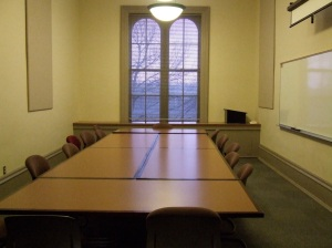 One of the classrooms where my classes are held.